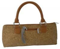 Picnic Gift - Wine Clutch - Cork Insulated Single Bottle Wine Tote