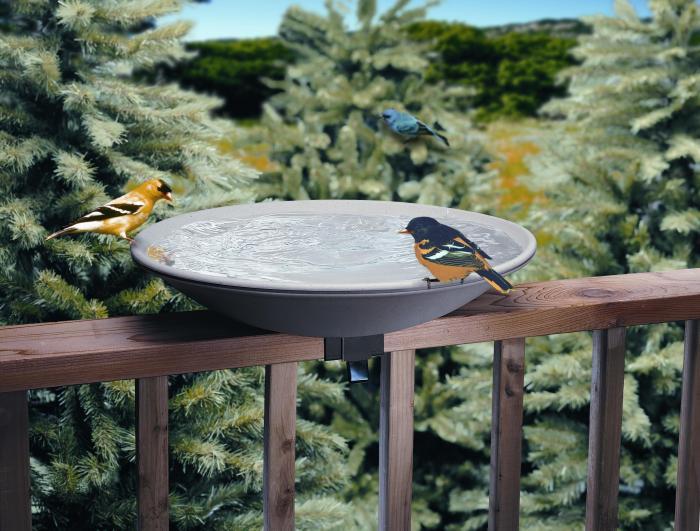 Allied Precision Deck Mounted Bird Bath