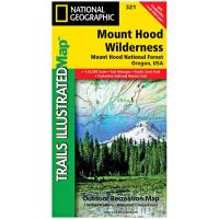 National Geographic Mount Hood Wilderness #321