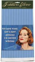 Fiddler's Elbow To Save Time Towel