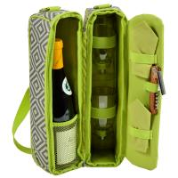 Picnic At Ascot Sunset Wine Tote for 2 - Diamond Granite