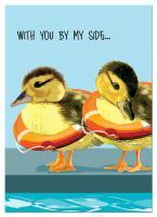 Tree Free Greetings Ducklings Friendship