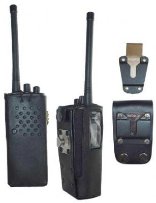 HL27 Hard Leather Carry Case for Motorola GP300 / P1225 Radio