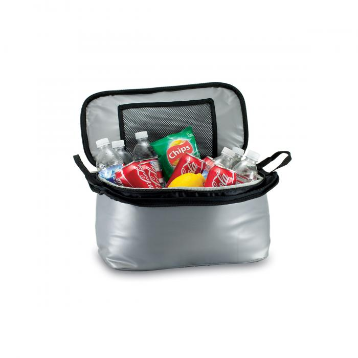 Picnic Time Vulcan, All-in-one, Insulated Tailgating Cooler w/Gas Grill and 3 Piece BBQ Tool Set