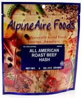 Alpine Aire All American Roast Beef Hash, 4 Ounces