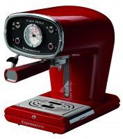 Espressione Cafe Retro Pump Espresso Machine, Red