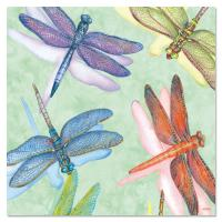 Tree Free Greetings Dragonflies Magnet