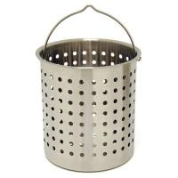 Bayou Classic 62-Quart Stainless Perforated Basket