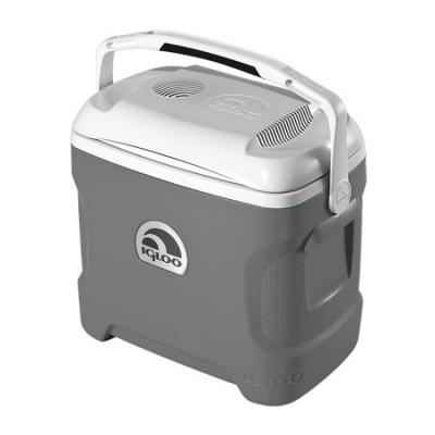 Igloo 28 Qt. Iceless 28 Thermoelectric Cooler, Silver