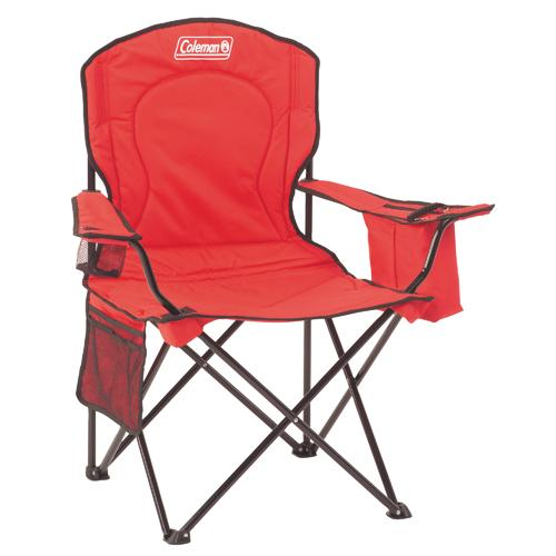 Chair Adult Quad with Cooler, Red