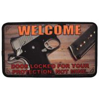 "Rivers Edge Products 18""x30"" Door Mat- This Door Is Locked"