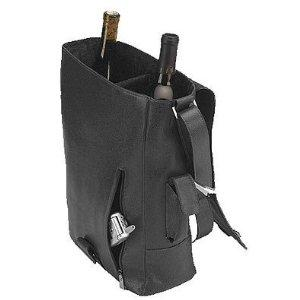 Primeware Vino 2 Leather Wine Tote