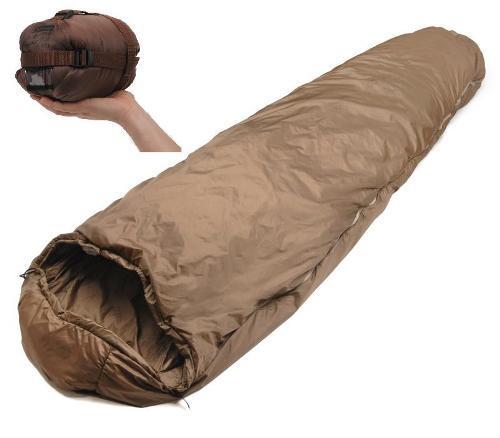 SnugPak Softie 3 Merlin Coyote Brown RH Zip Sleeping Bag