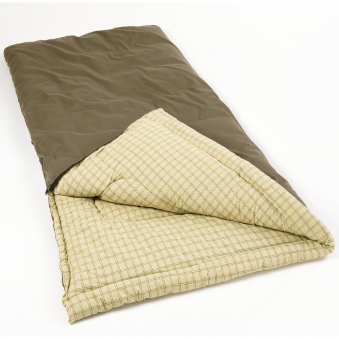 Coleman Sleeping Bag 40*84 - 6 lbs Hollofil / Big Game