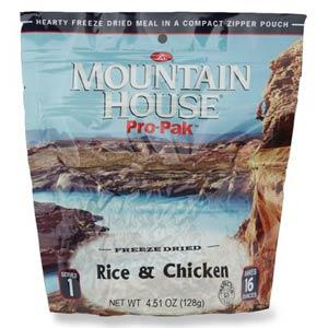 Freeze Dried Food by Mountain House