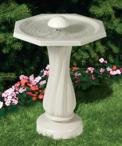 Fountain Bird Baths by Allied Precision