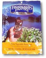 Backpacker's Pantry NC Pasta Vegetable Parmagiana