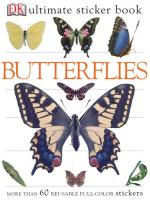Penguin Group Butterflies Sticker Book