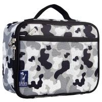 Olive Kids Gray Camo Lunch Box