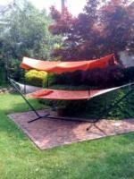 Bliss Hammocks Canopy for 15' Hammock Stand - Terracotta