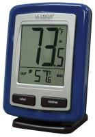 La Crosse Technology Wireless Weather Station Thermometer - Blue