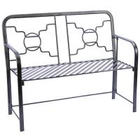 Achla Bows and Circles Bench