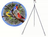 Songbird Essentials SE5008 Songbird Trio Hanging Birdbath