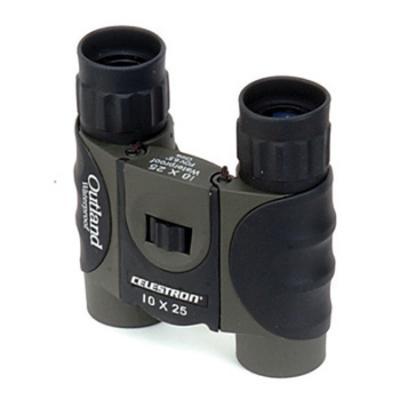 Celestron Outland 10 X 25 Comfort Grip Waterproof Binocular
