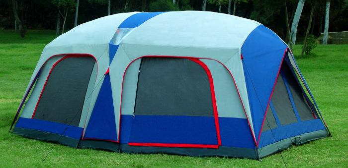 Gigatent Mt. Barren 2-Room Family Tent