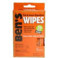 Adventure Medical Ben's Wipes, 30% Deet