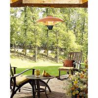 Fire Sense Hanging Copper Finish Halogen Patio Heater