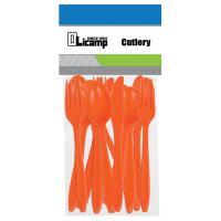 Olicamp 16 Piece Cutlery - Orange