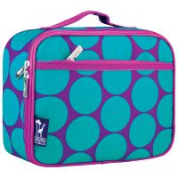Olive Kids Big Dot Aqua Lunch Box