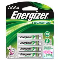 Energizer NiMH AAA Batteries, 4 Pack