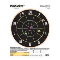 Champion Traps & Targets Visicolor Dartboard(10/Pk)