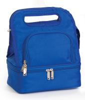 Picnic Plus Savoy Lunch Tote with Storage Container - Royal Blue