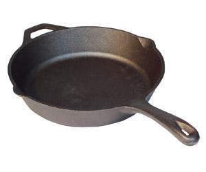 Camp Chef 12-inch Seasoned Cast Iron Skillet