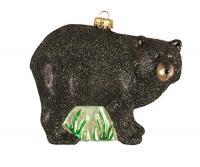 Cobane Studio Black Bear Ornament