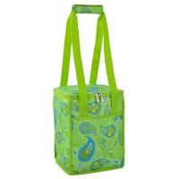 Picnic at Ascot 24 Can Collapsible Cooler - Paisley Green