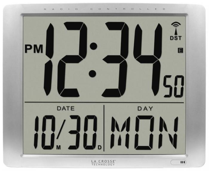 La Crosse Technology 515-1316 Atomic Time - Digital Wall Clocks