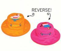 Luvali Convertibles Sundae/Popsicle Reversible Kids' Hat Large