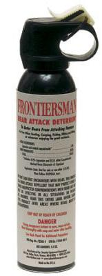 Security Equipment Bear Spray without Holster, 9.17 Ounce