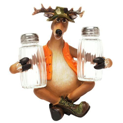 Rivers Edge Products Deer Salt And Pepper Shaker
