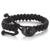 Columbia River (CRKT) Quick Release Paracord Bracelet - Large Black