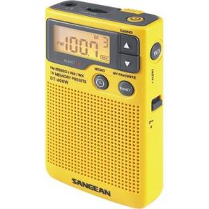 Weather/Outdoor Radios by Sangean