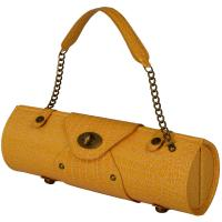 Picnic at Ascot Wine Purse - Orange