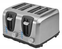 Kalorik 4 Slice Stainless Steel Toaster