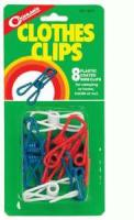 Coghlans Clothes Clips -Package of 8