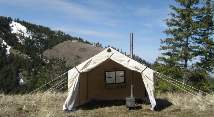 10x12x5ft Magnum Wall Tent and Angle Kits
