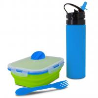 Smart Planet Blue/Green 2 Piece Meal Kit